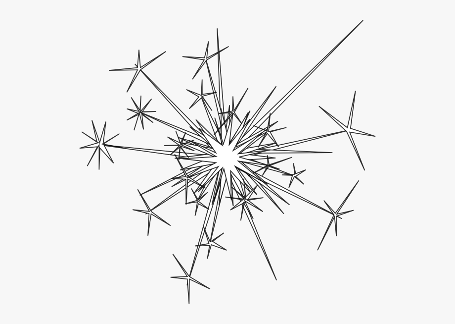 Fireworks black and white clipart vector free Fireworks Clip Art At Vector Clip Art - Sparkler Clipart Black And ... vector free