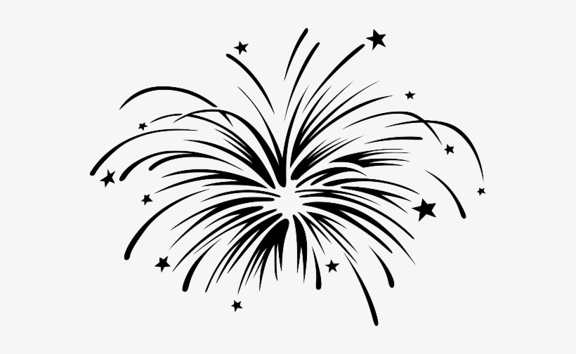 Fireworks clipart black and white free download Clipart, Fireworks Clipart Black And White 19 Firework - Fireworks ... free download