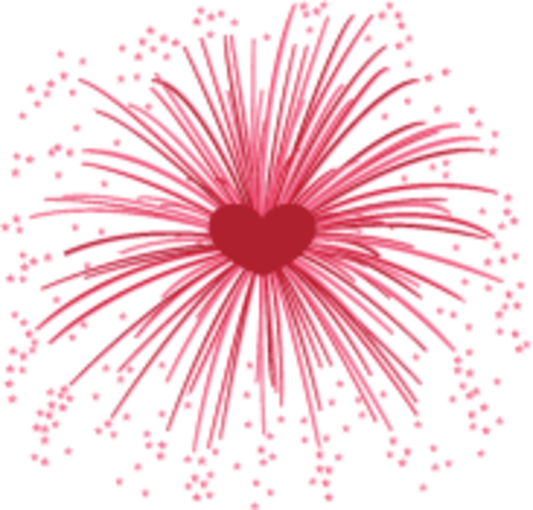 Fireworks heart clipart clipart free download Fireworks | Free Images at Clker.com - vector clip art online ... clipart free download