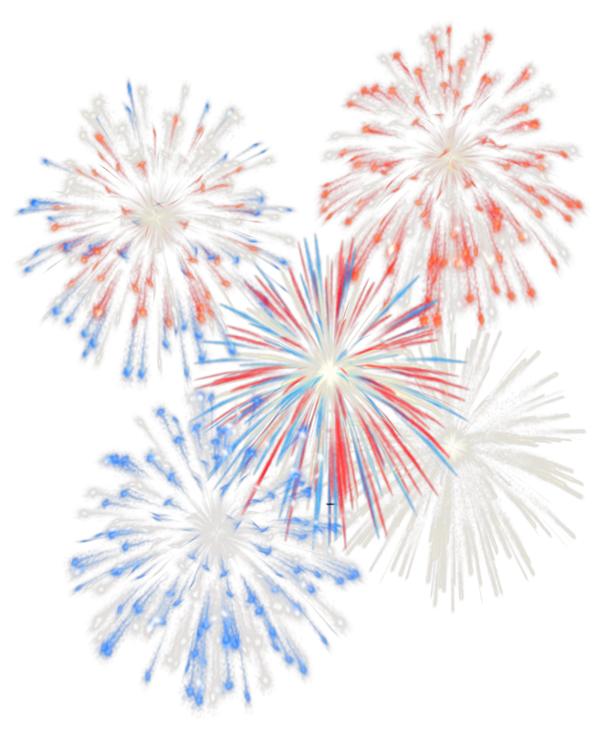 Fireworks heart clipart freeuse download 4th July Transparent Fireworks PNG Picture | Gallery Yopriceville ... freeuse download