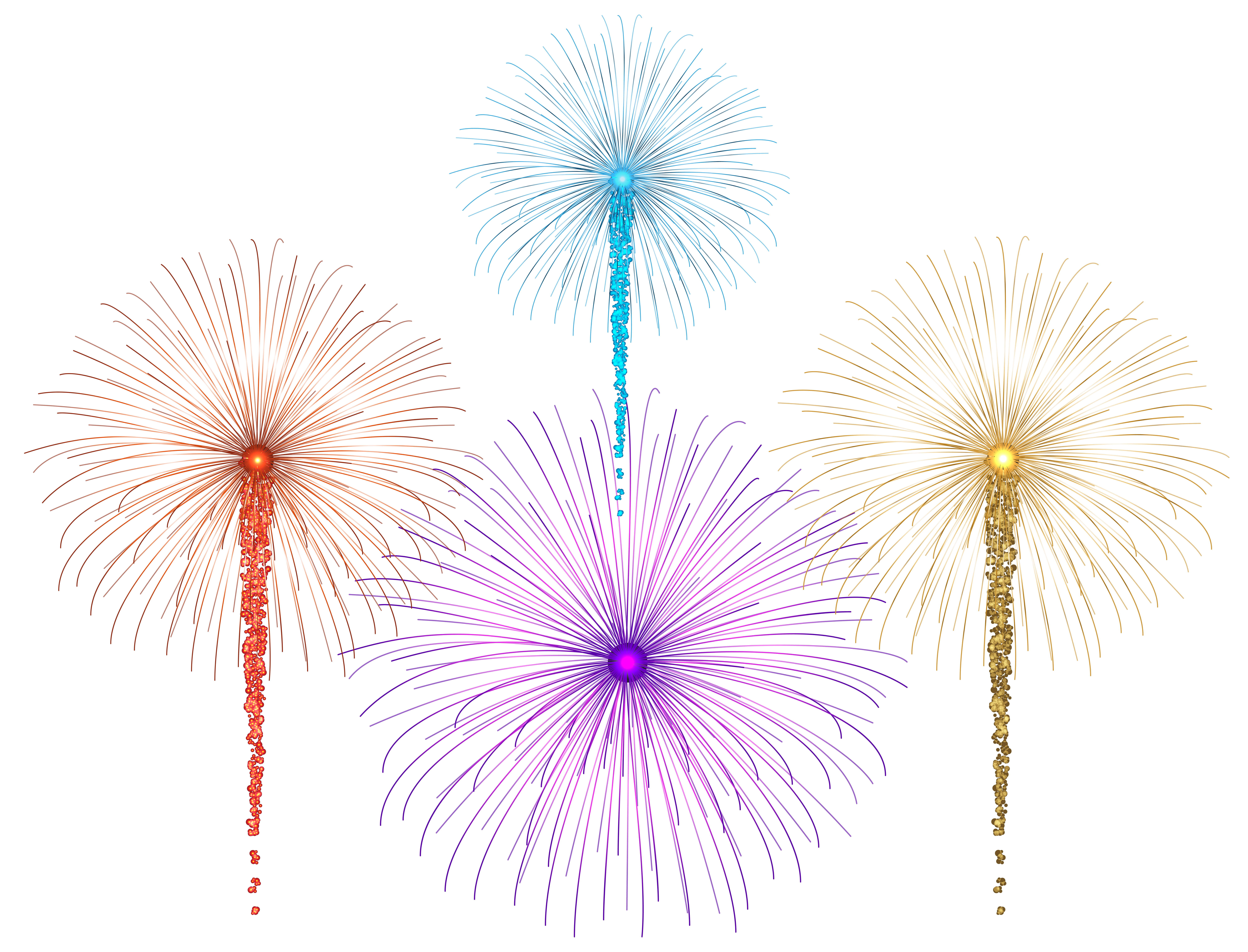 Fireworks heart clipart picture transparent library Fireworks for Dark Images PNG Clip Art | Gallery Yopriceville ... picture transparent library
