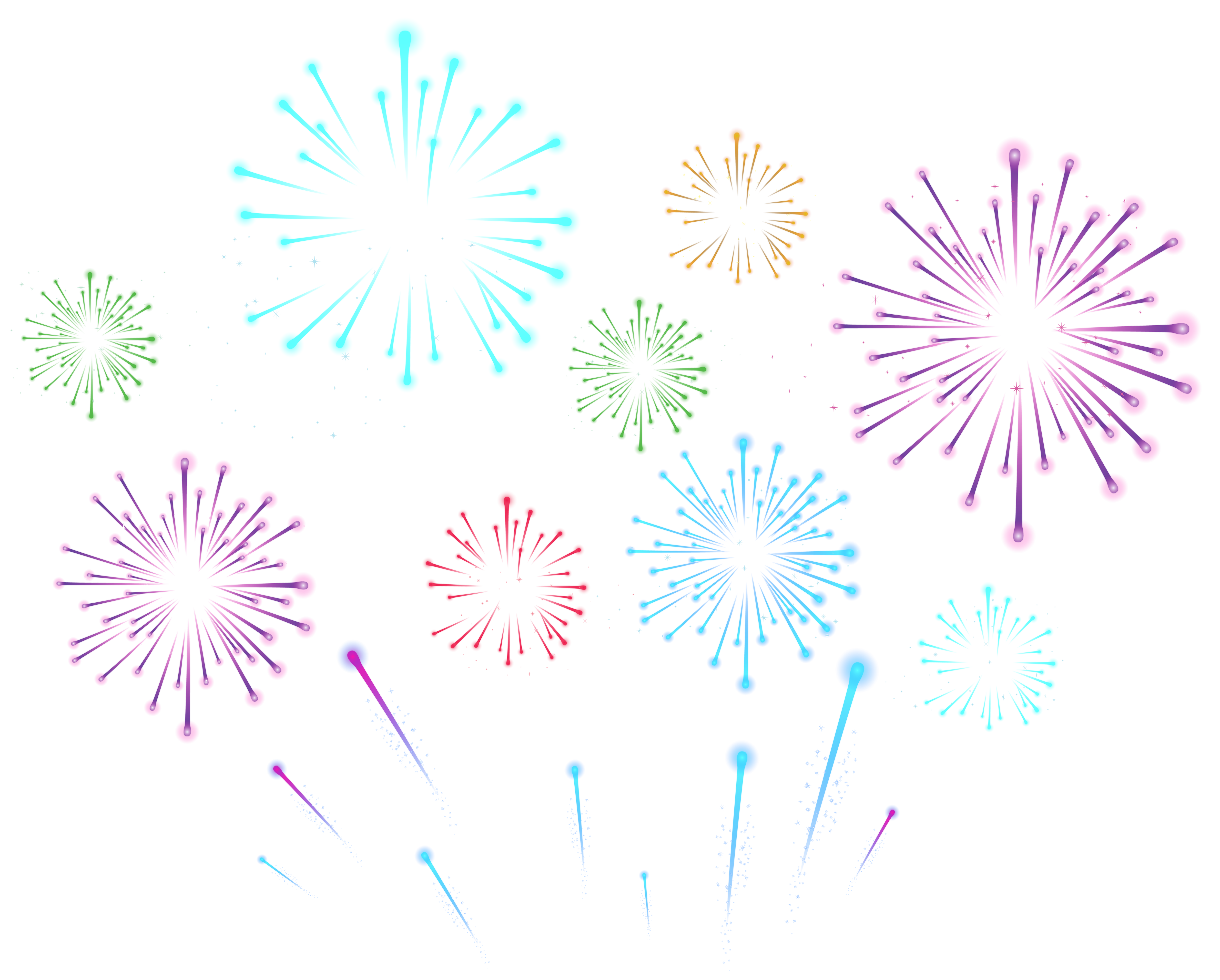 Fireworks transparency clipart banner free stock Fireworks Transparent PNG Clip Art Image | Gallery Yopriceville ... banner free stock