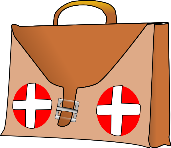 First aid cross clipart svg black and white library First Aid Kit Clip Art at Clker.com - vector clip art online ... svg black and white library