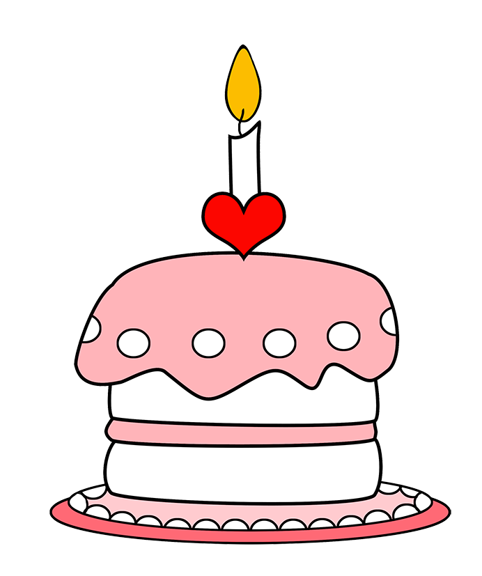 First birthday clipart vector royalty free Birthday Clip Art and Free Birthday graphics vector royalty free