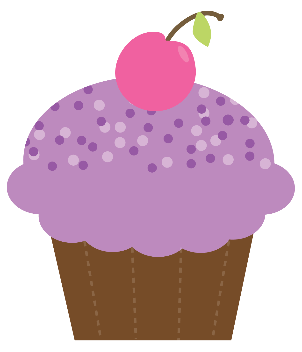 Cupcake with crown clipart image download 1st birthday cupcake clipart - ClipartFest image download