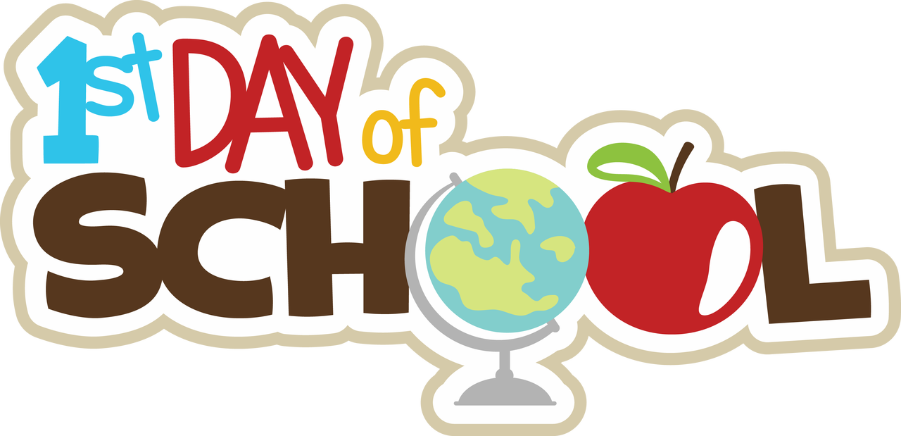 First day of school clipart graphic library First Day Of School Images | Free download best First Day Of School ... graphic library
