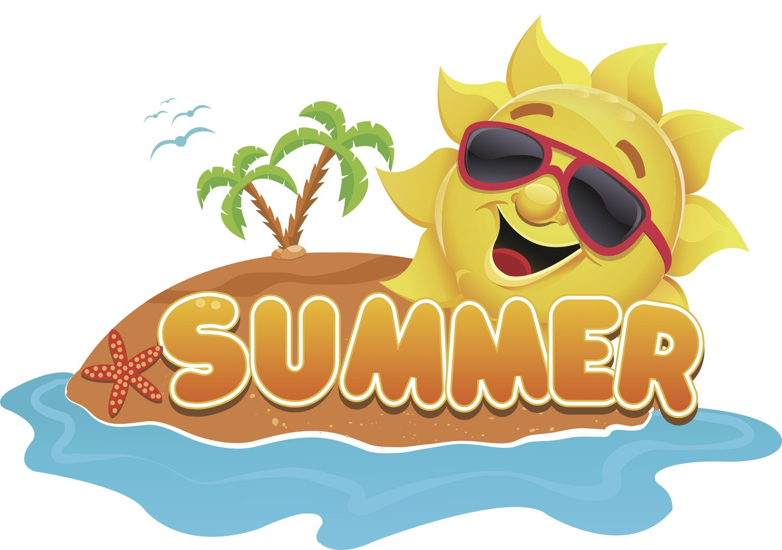 First day of summer clipart images png black and white download BCArc - First Day of Summer - png black and white download