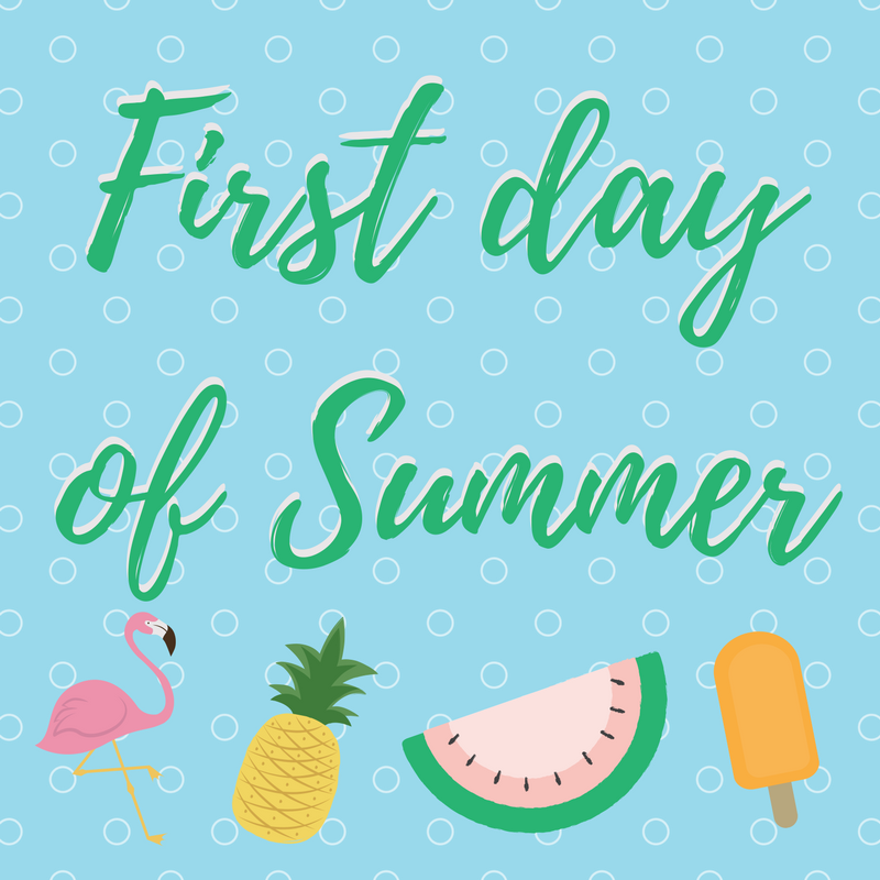 First day of summer clipart images jpg black and white stock First Day Of Summer Clipart 14 - 800 X 800 - Making-The-Web.com jpg black and white stock