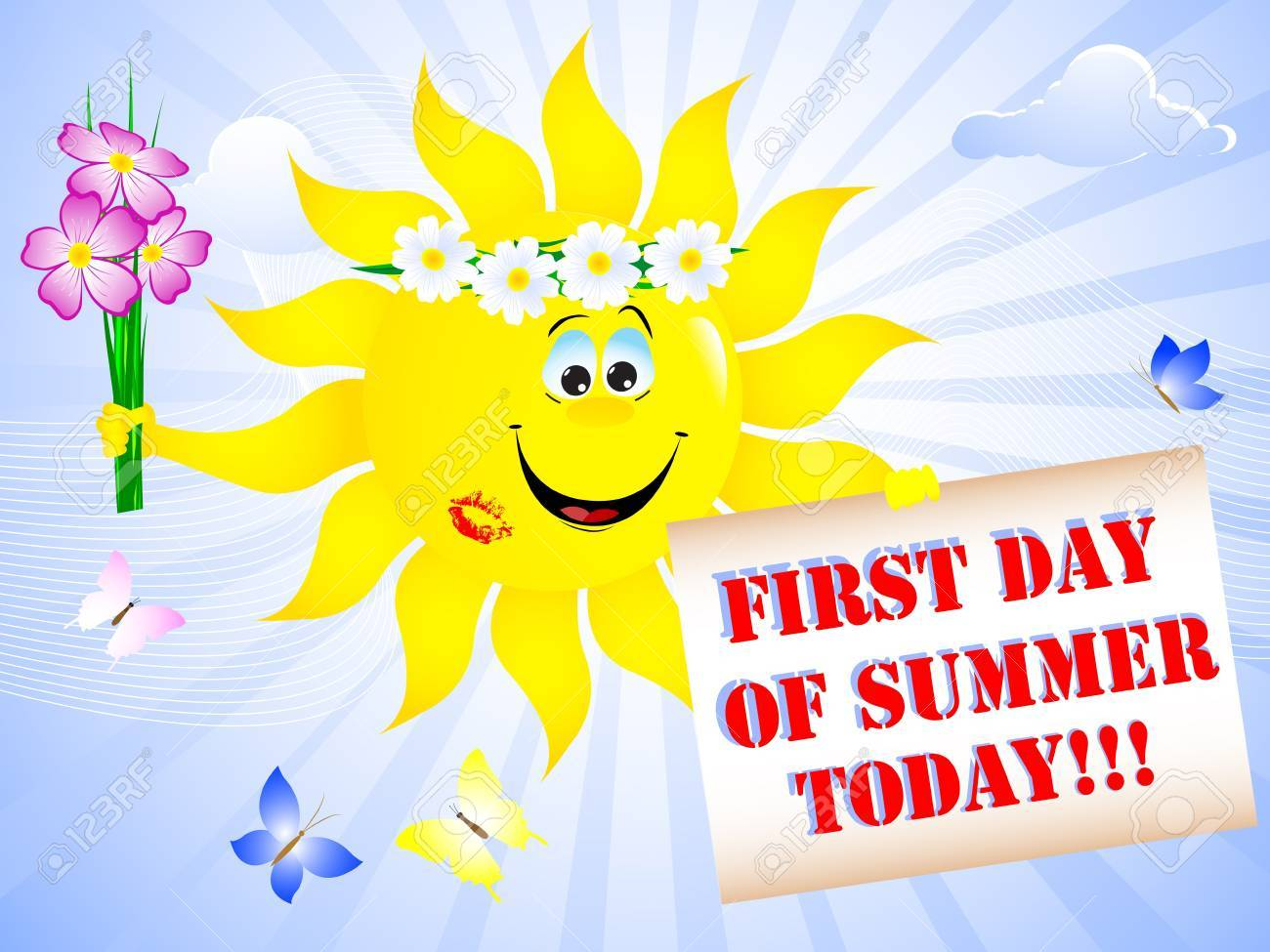 First day of summer clipart images clipart freeuse download 1st day of summer clipart 5 » Clipart Portal clipart freeuse download