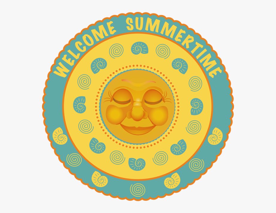 First day of summer clipart clip free download Free Clipart First Day Of Summer - Circle , Transparent Cartoon ... clip free download