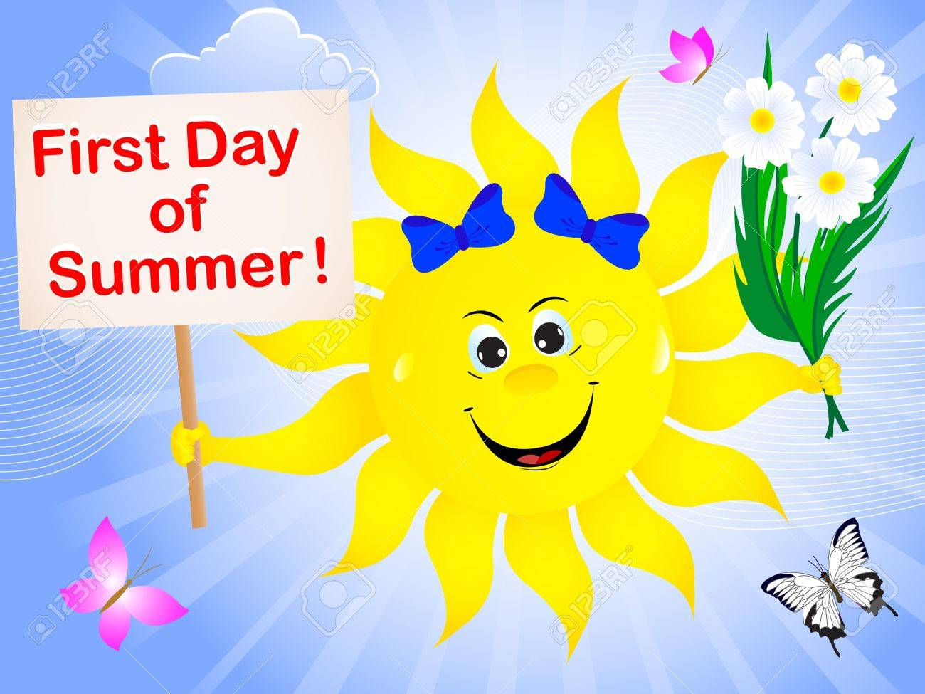 First day of summer free clipart image download First Day Of Summer Clipart 8 - 1300 X 975 - Making-The-Web.com image download