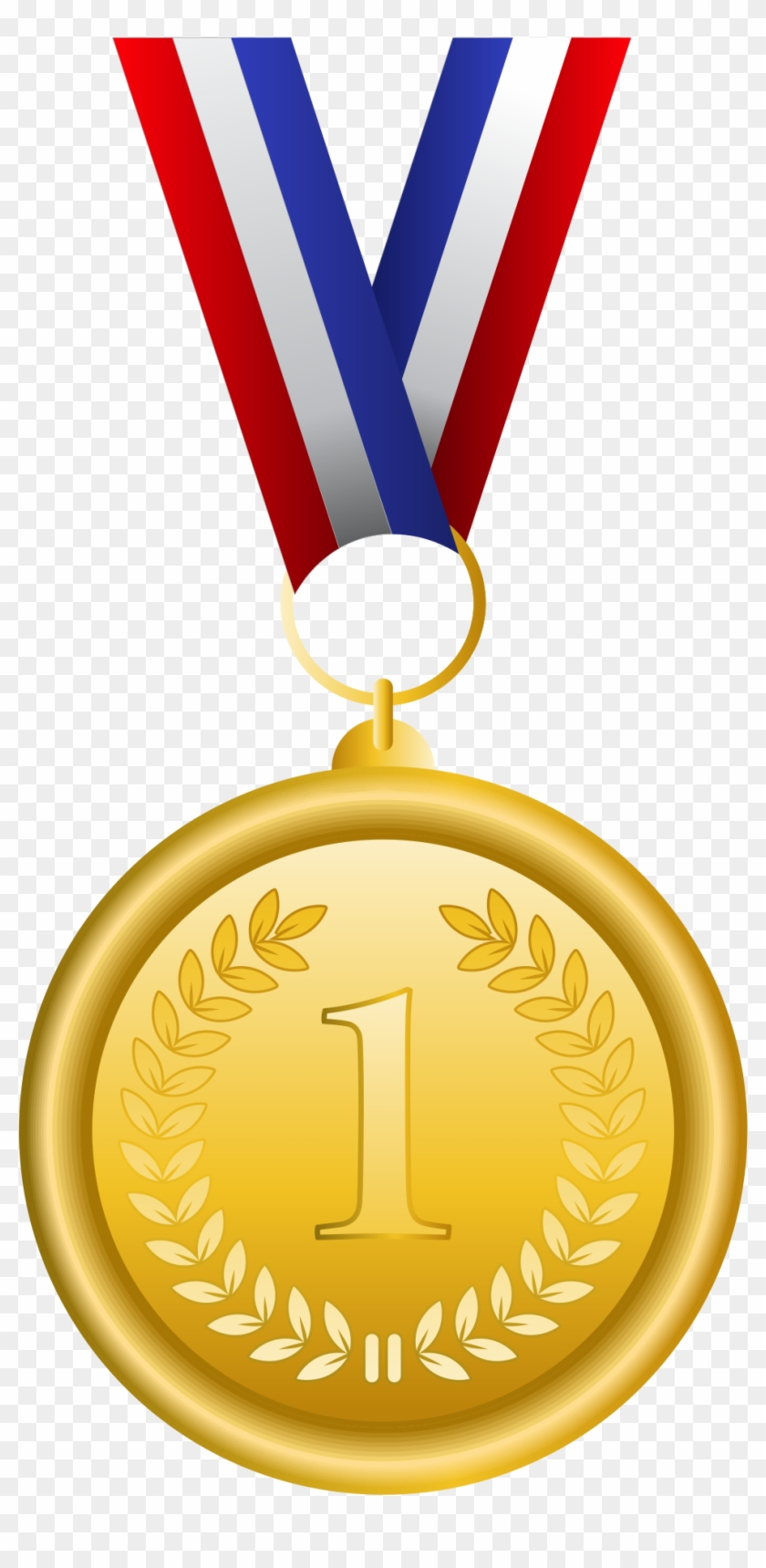 First place medal clipart svg freeuse Gold Medal Olympic Medal Bronze Medal Clip Art - First Place Medal ... svg freeuse