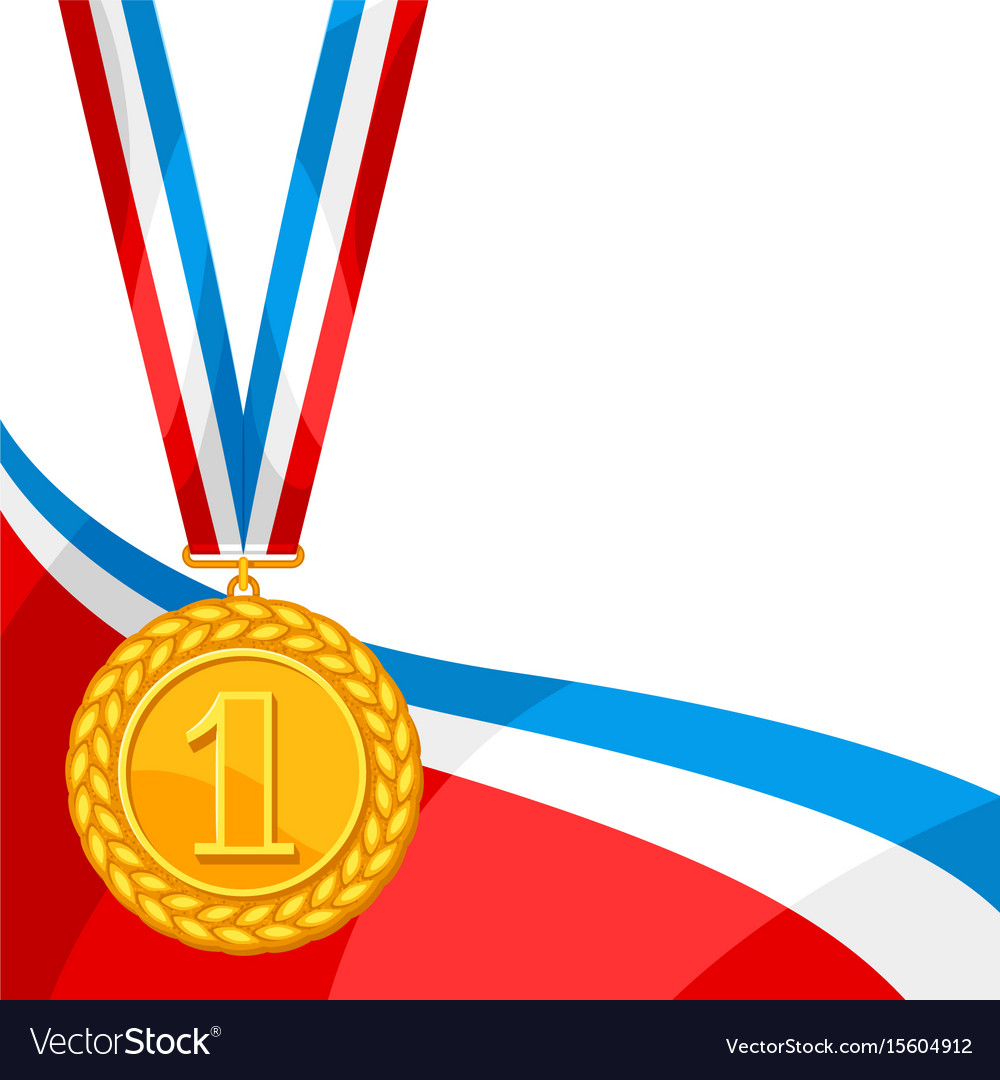 First place medal clipart png library download Realistic gold medal for first place background png library download