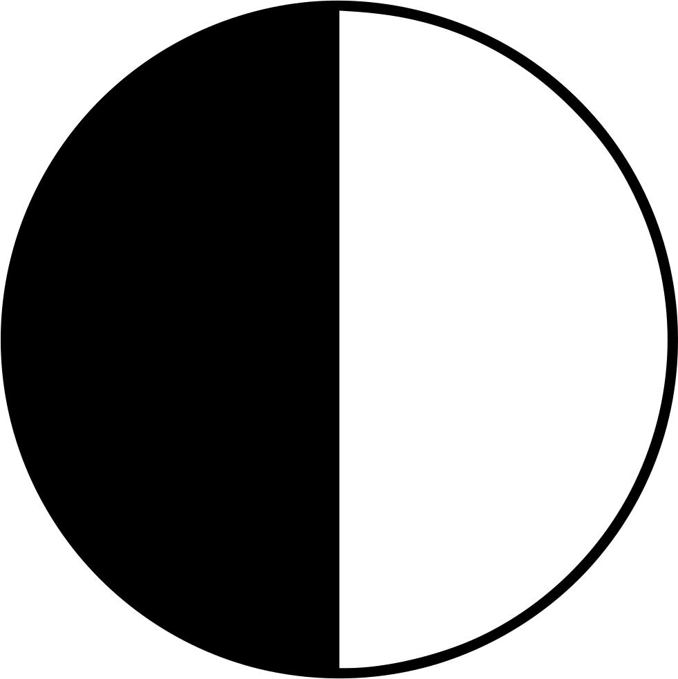 First quarter moon clipart clip art royalty free download First Quarter Moon Png - 1st Quarter Moon Drawing , Transparent ... clip art royalty free download