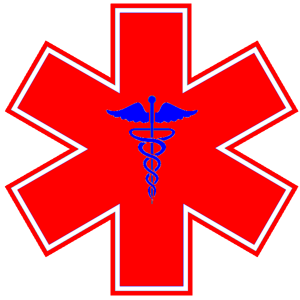 First responders clipart with a cross clip art download Star of Life Emergency medical technician Emergency medical services ... clip art download