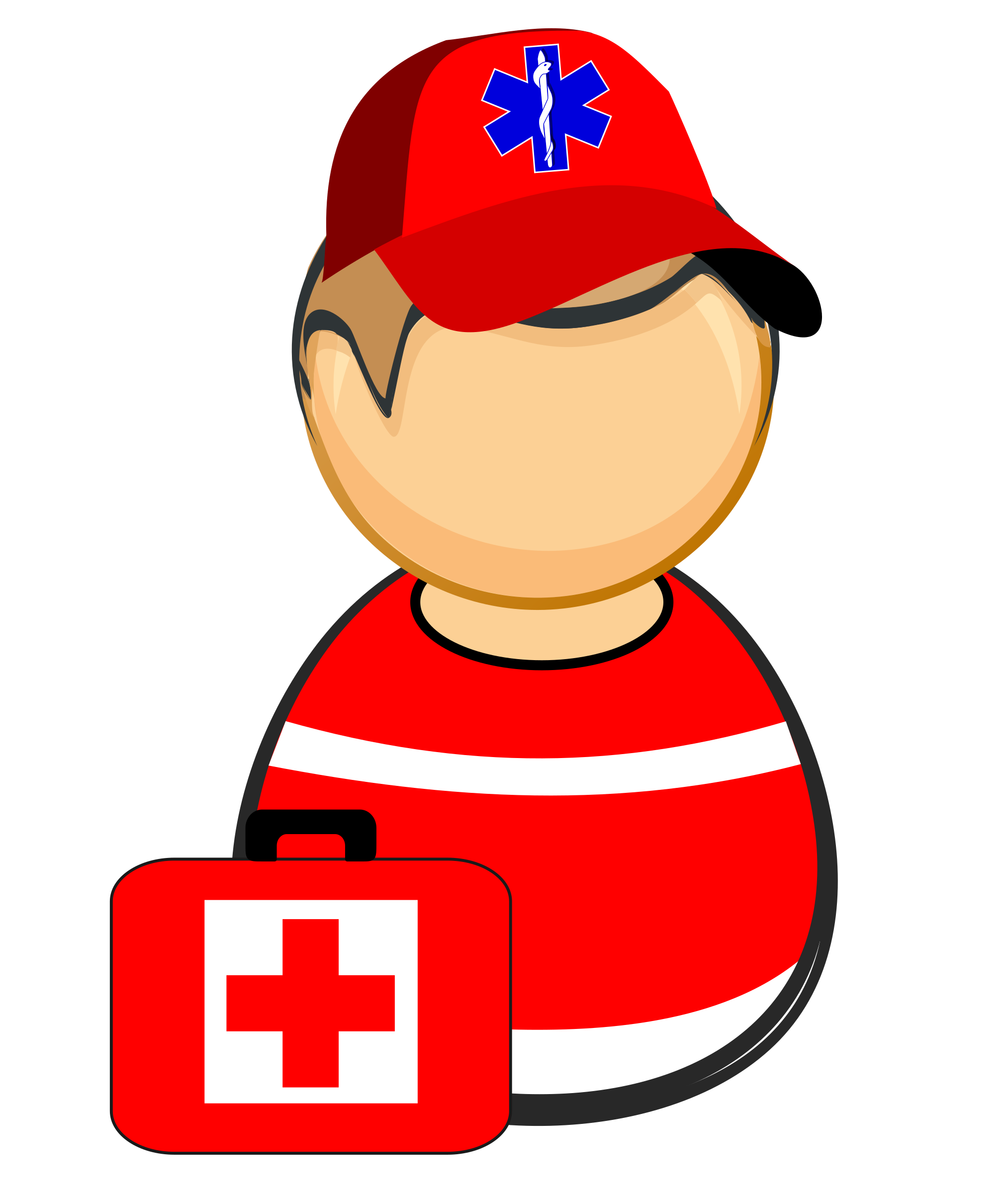 First responders clipart with a cross image royalty free download Clipart - First responder - paramedic image royalty free download