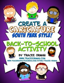 First week of school comedy free clipart free stock Free Back to School Beginning of the Year Caricature Icebreaker ... free stock