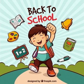 First week of school comedy free clipart graphic freeuse library Boy Vectors, Photos and PSD files | Free Download graphic freeuse library