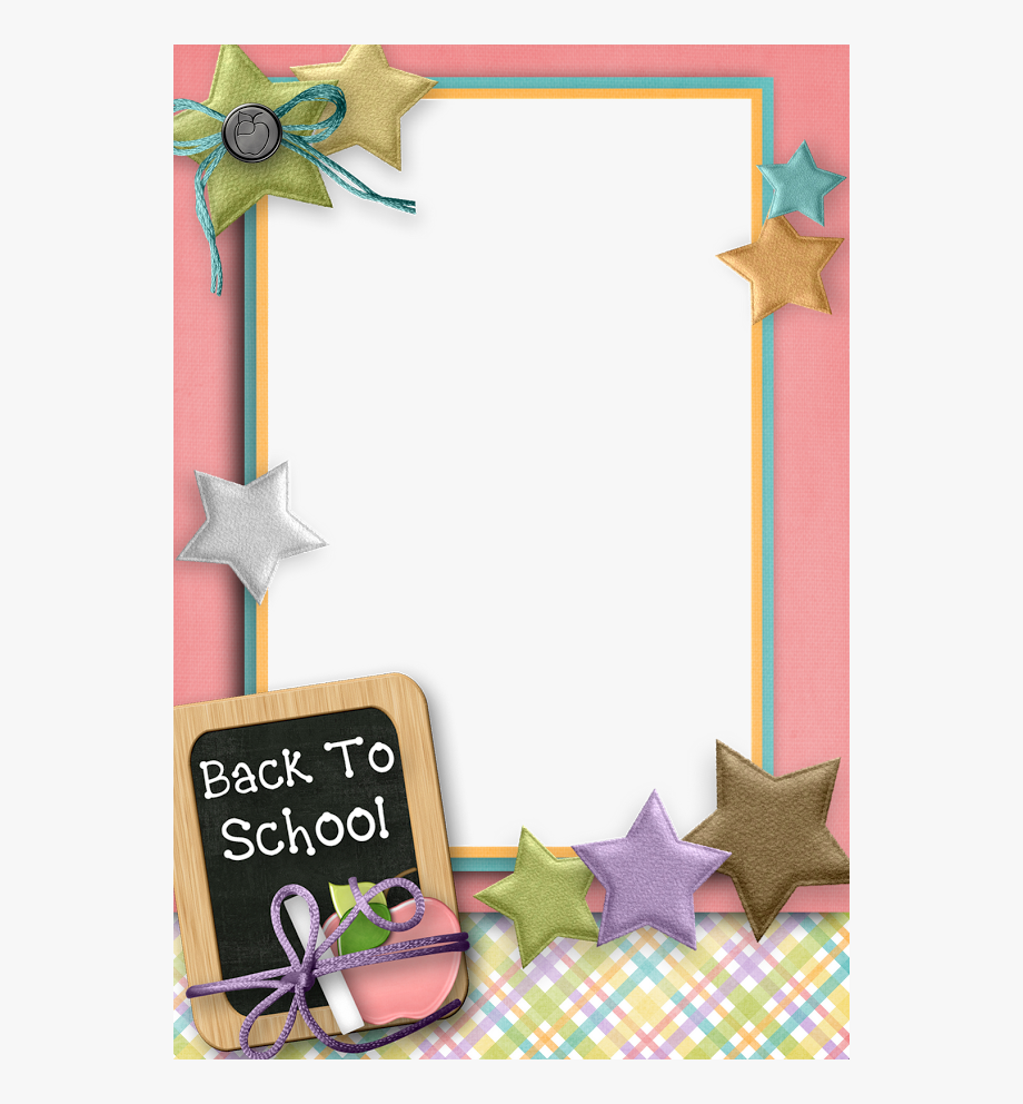 First week of school comedy free clipart banner royalty free Grilling Clipart Border - Back To School Frames Cliparts #1480448 ... banner royalty free