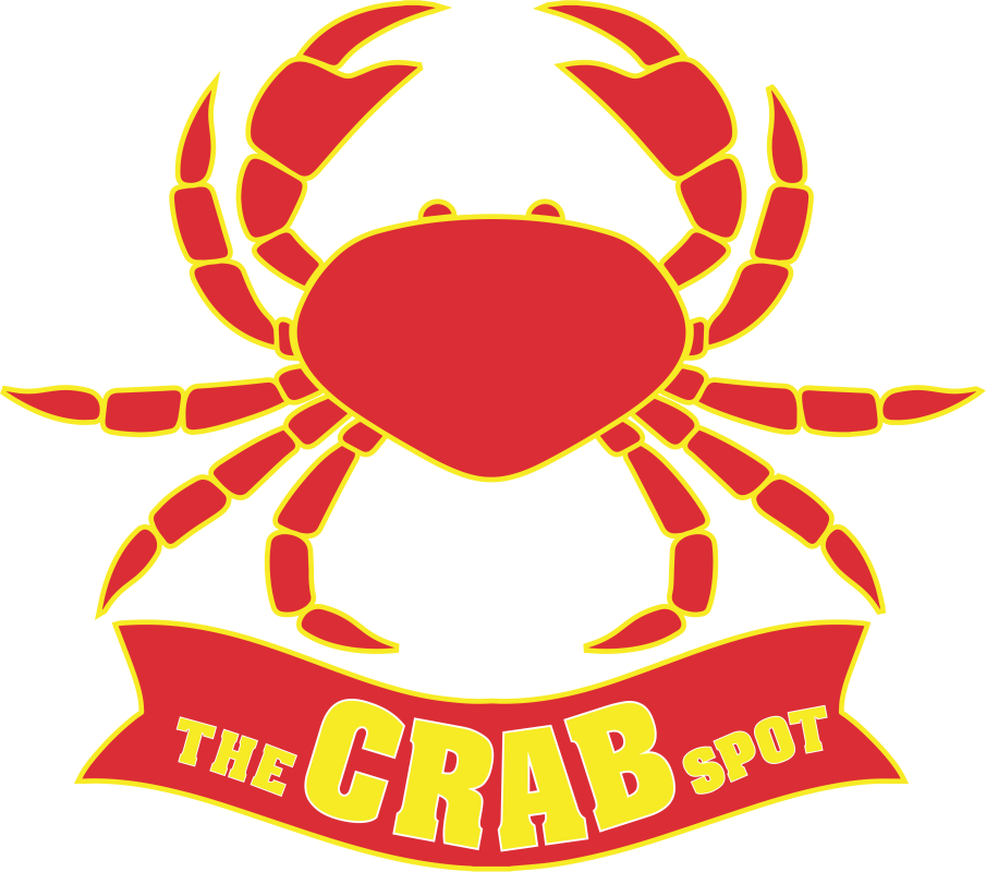 The crab spot delivery. Fish and grits clipart