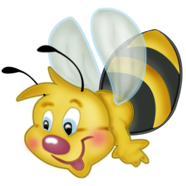 Honeybee with book clipart image royalty free Valentine Love Bees - Honey Bee Free Images   Honey Bees (abeilles ... image royalty free