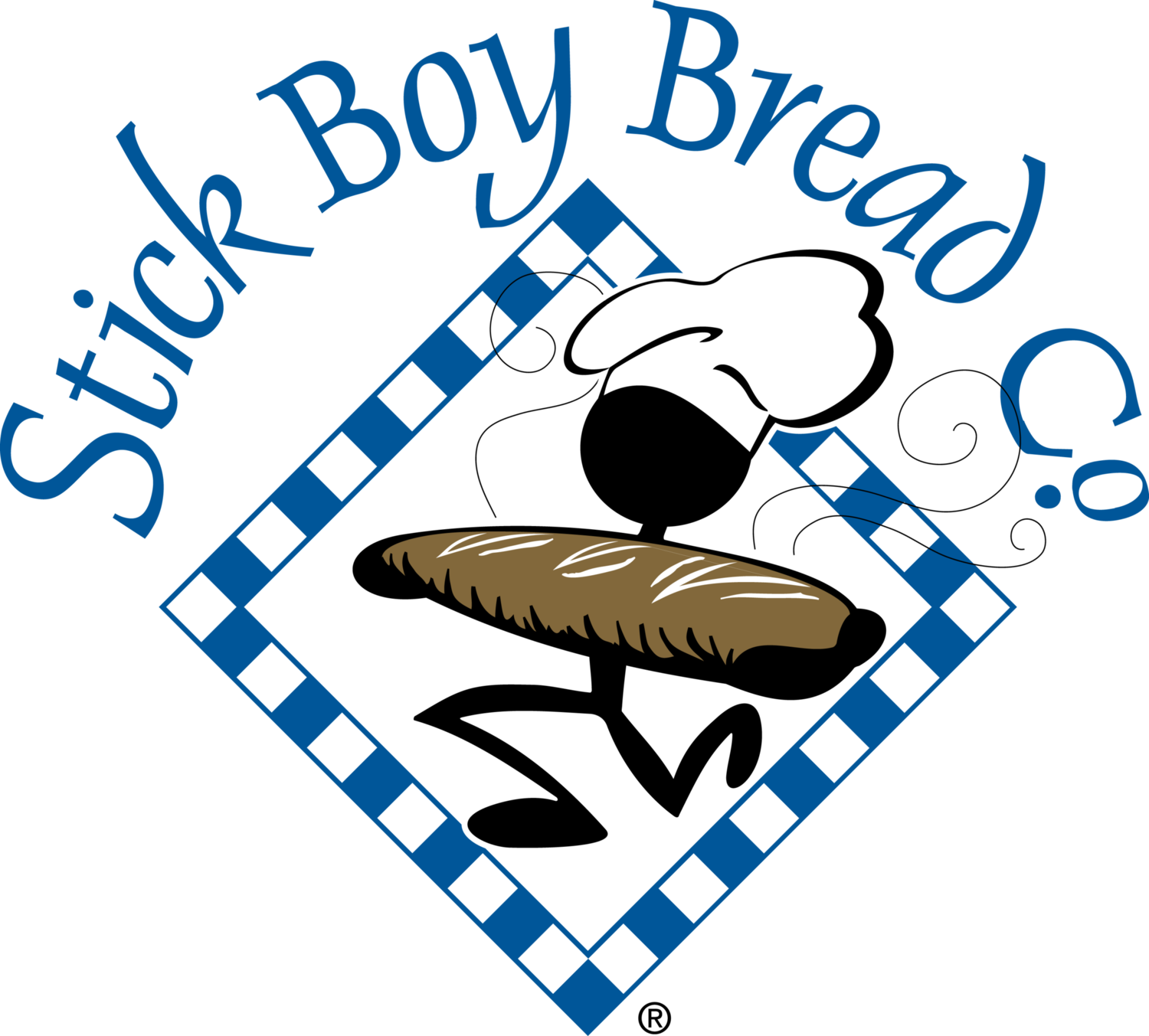 Donation request stick boy. Fish and loaves clipart