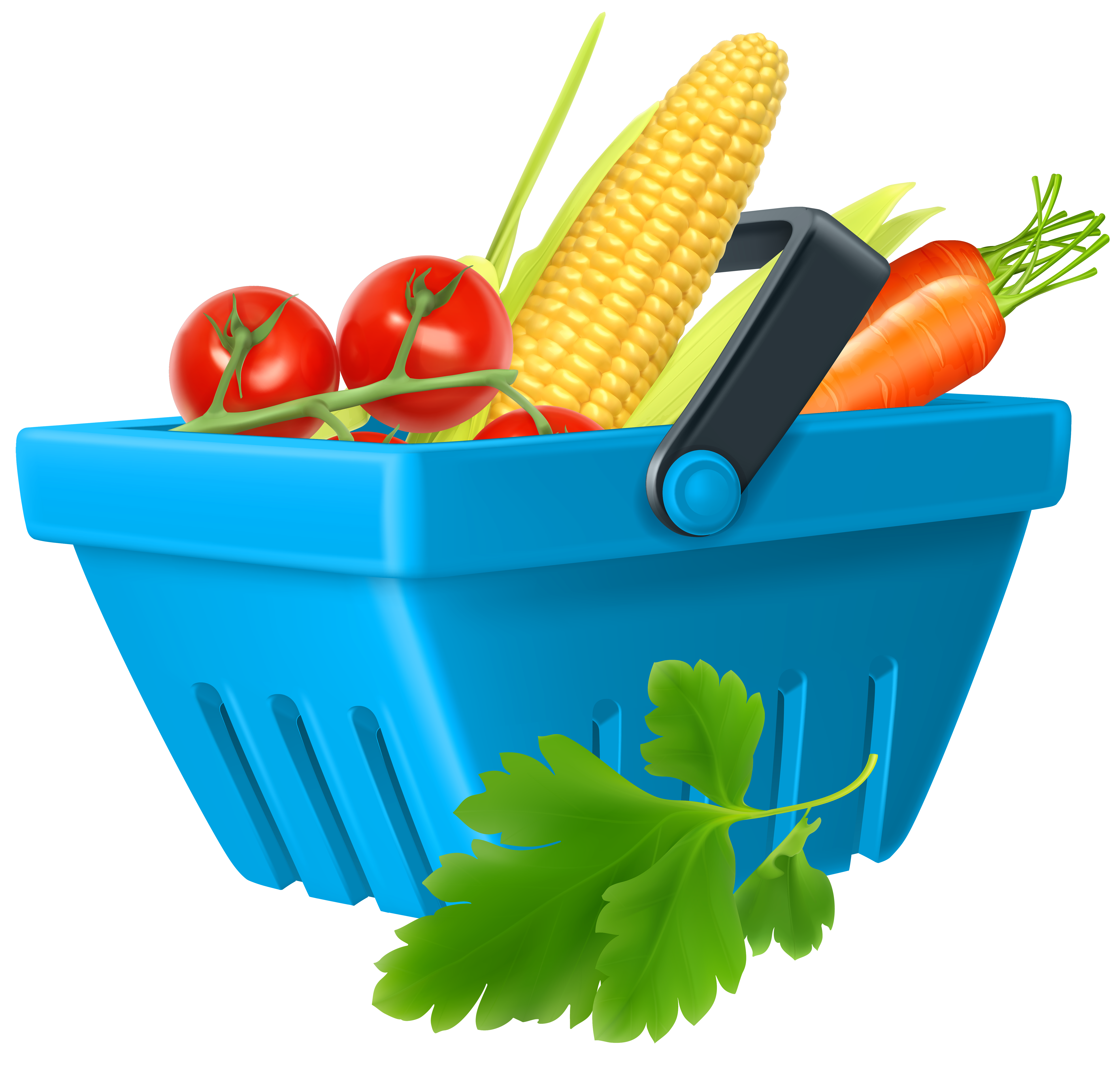 Fish and vegetables clipart image royalty free stock Basket with Vegetables PNG Clipart - Best WEB Clipart image royalty free stock