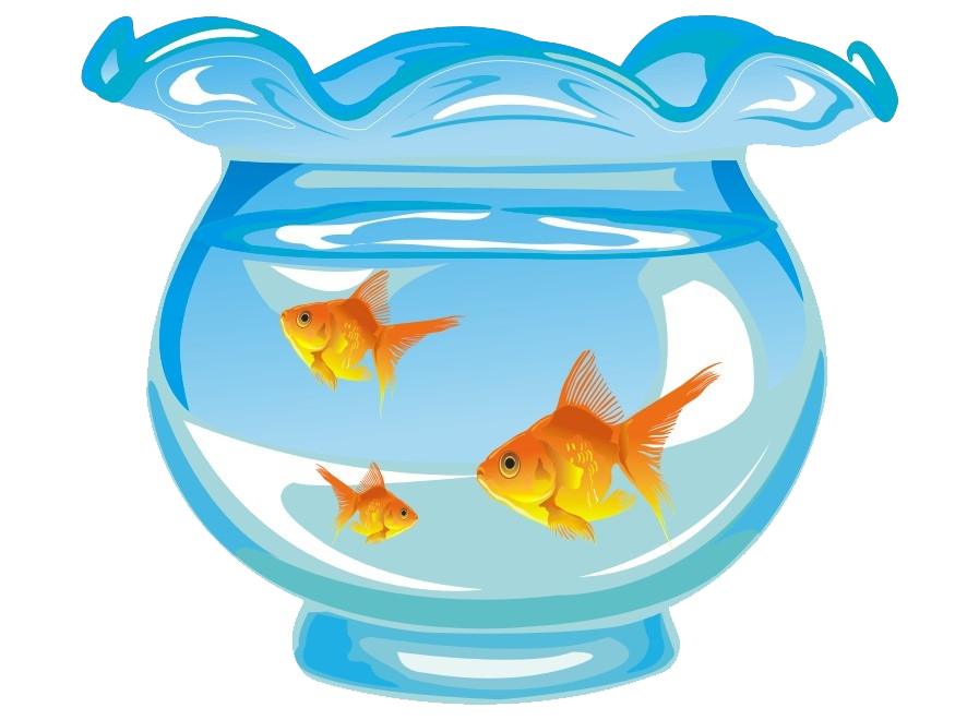 Fish tank transparent clipart clip free Goldfish Aquarium Fishkeeping - Cute cartoon hand-painted blue and ... clip free