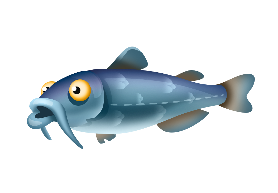 Fish being caught clipart clip art black and white stock White Catfish | Hay Day Wiki | FANDOM powered by Wikia clip art black and white stock