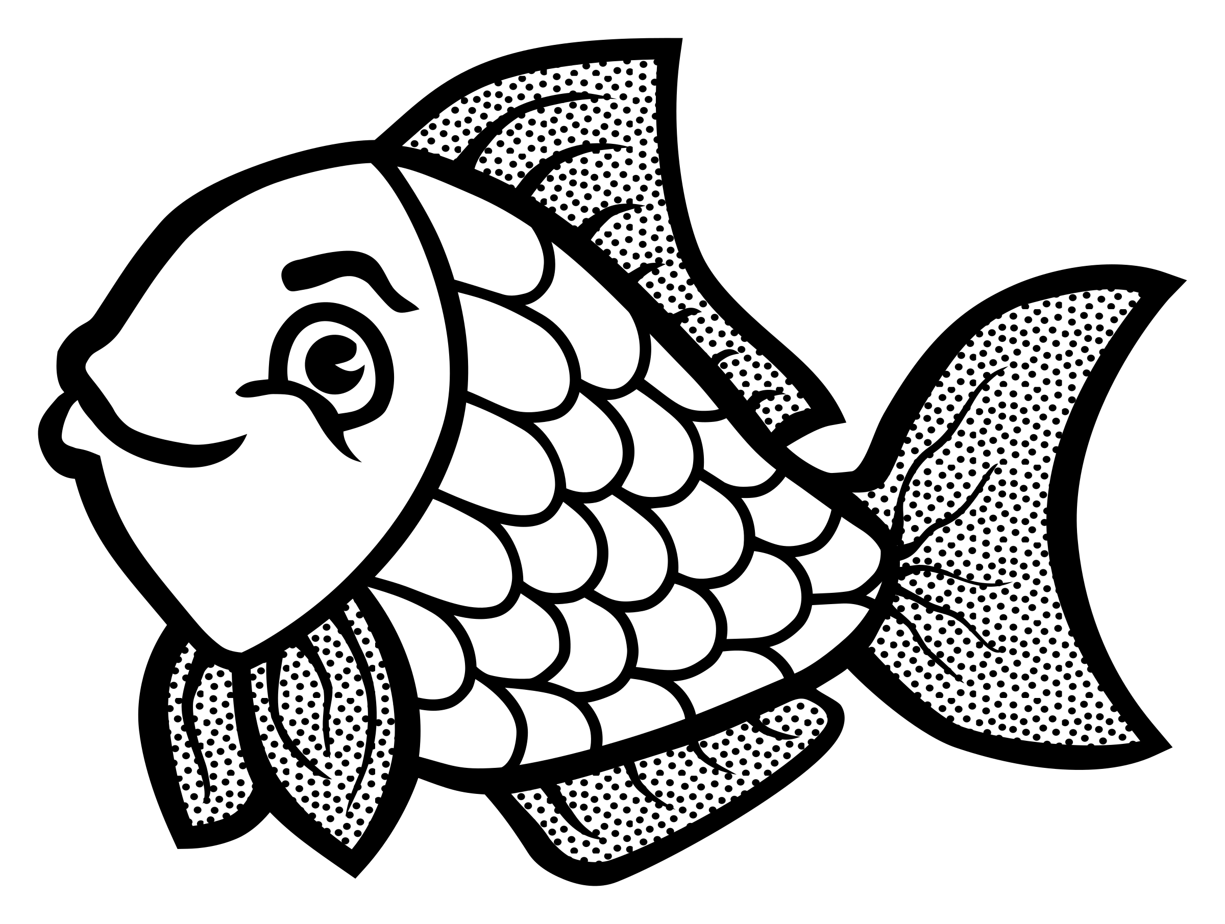 Fish on line clipart graphic freeuse library Professional Fish Line Art Lineart Icons PNG F #2348 | Maries ... graphic freeuse library
