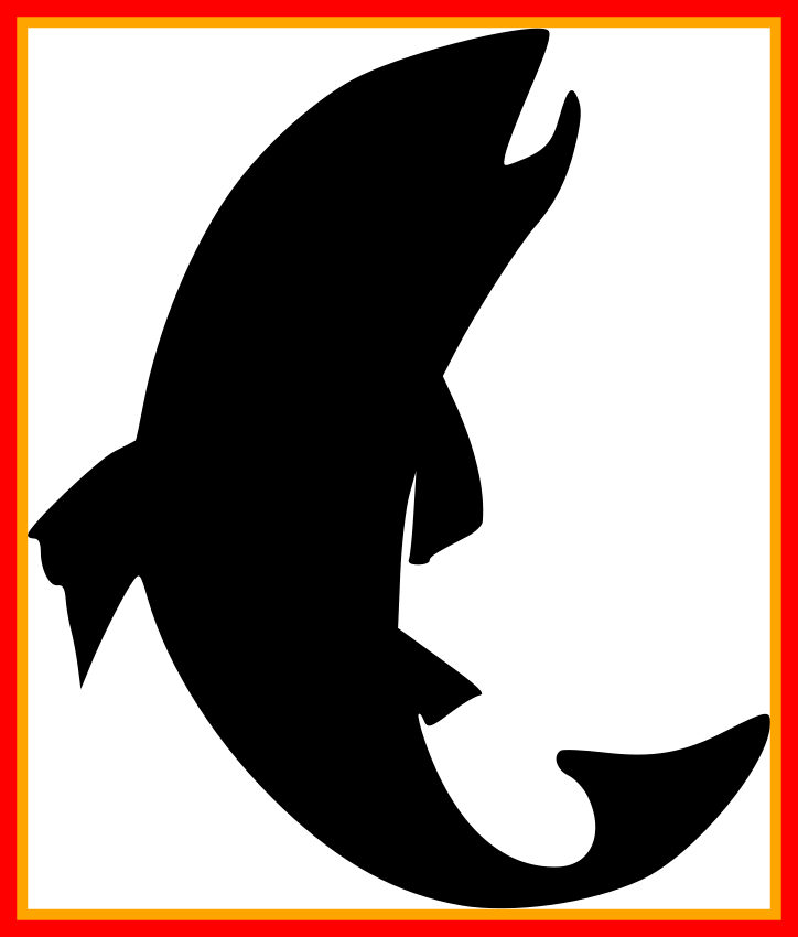 Fish borders clipart picture freeuse stock Marvelous Black Fishing Clip Art Pic For Fish Png Clipart And White ... picture freeuse stock