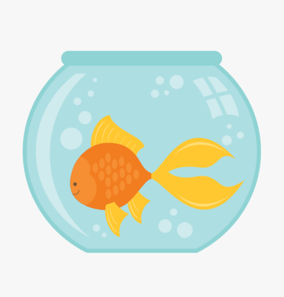 Silhouette at getdrawings a. Fish bowl clipart free
