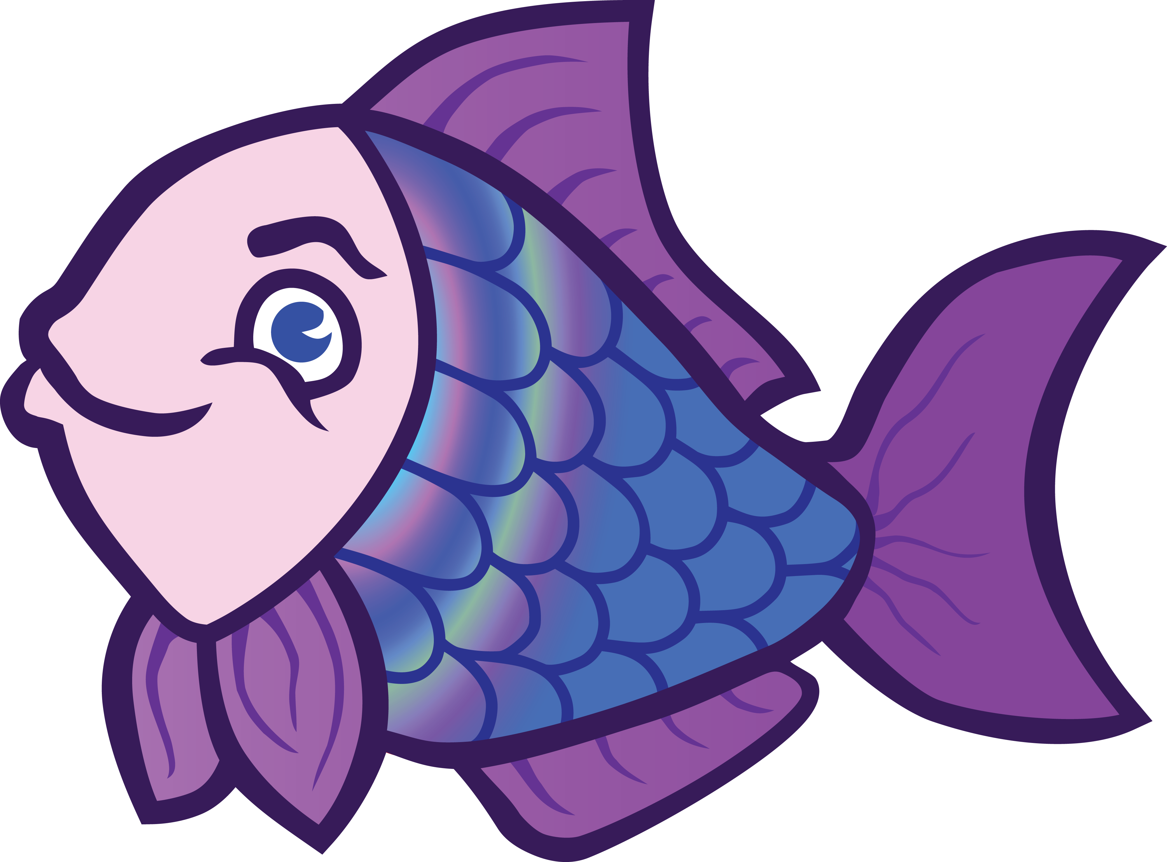 Fish cartoon clipart jpg Easy Clip Art Fish Silhouette At GetDrawings Com Free For Personal ... jpg