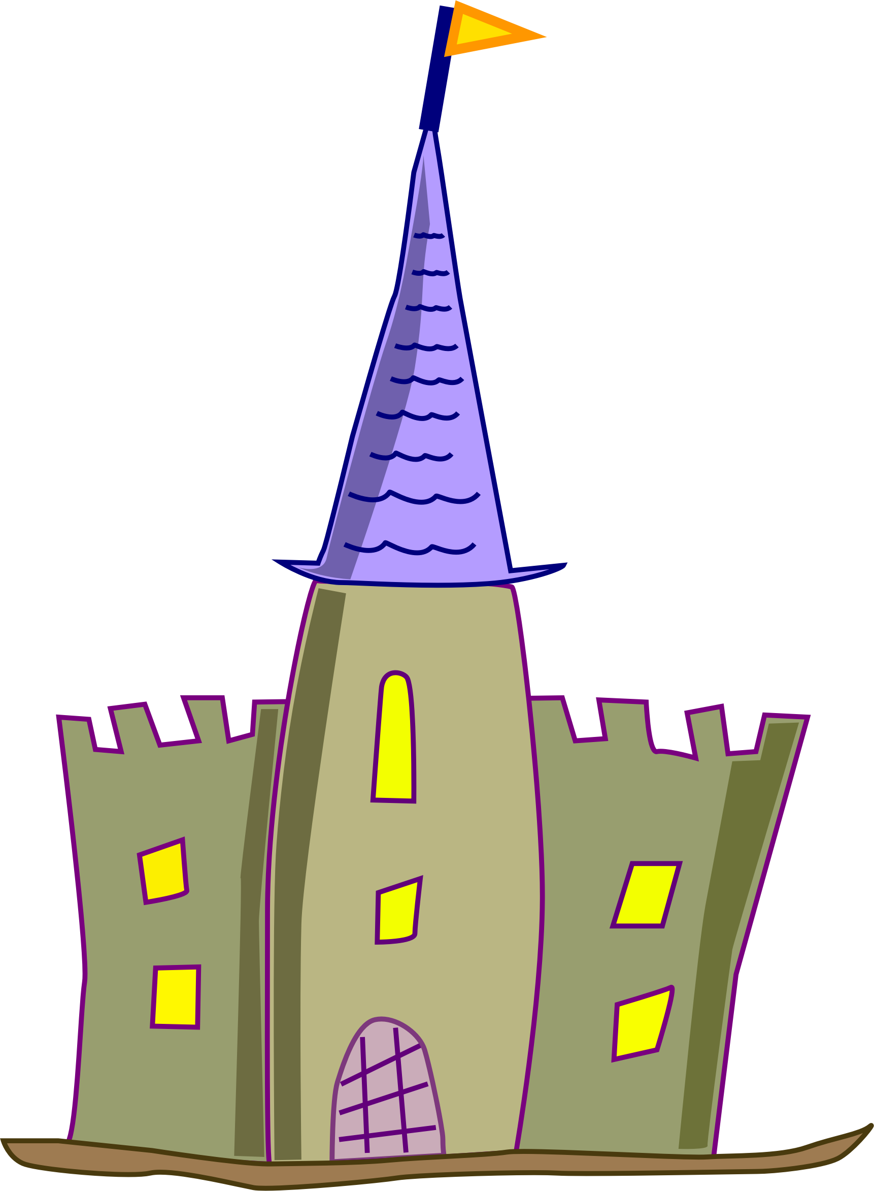 Fish castle clipart jpg free download Simple Castle Clipart at GetDrawings.com | Free for personal use ... jpg free download