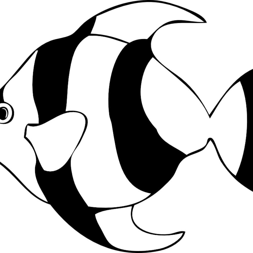 Fish clipart black and white free clip freeuse library Fish Clipart Black And White pineapple clipart hatenylo.com clip freeuse library