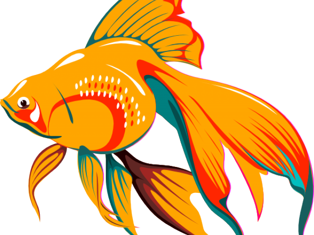 Free fish images clipart black and white download Gold Fish Clipart - Free Clipart on Dumielauxepices.net black and white download