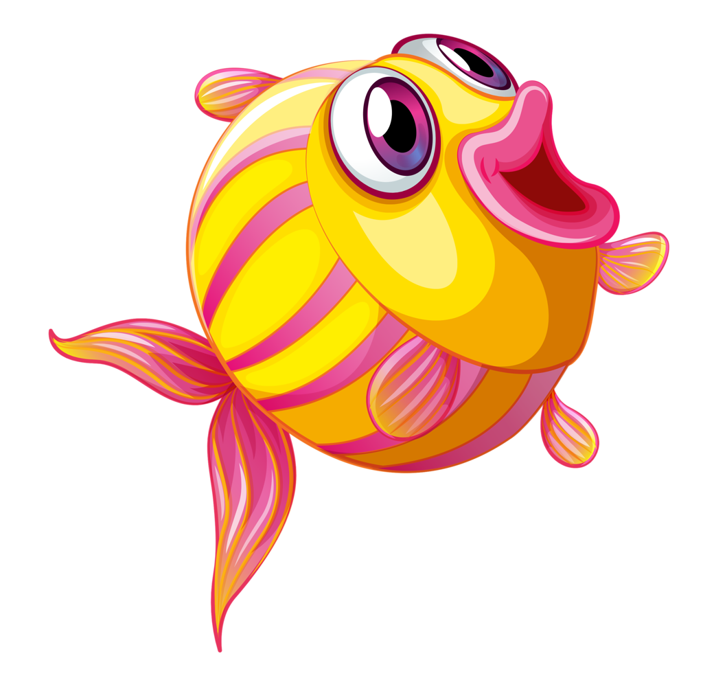 Fish clipart vector banner royalty free library Tropical Fish Clipart Happy Fish Free collection | Download and ... banner royalty free library