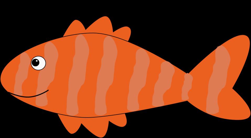 Fish clipart person vector download Public Domain Clip Art Image | Cartoon fish | ID: 13534131012551 ... vector download