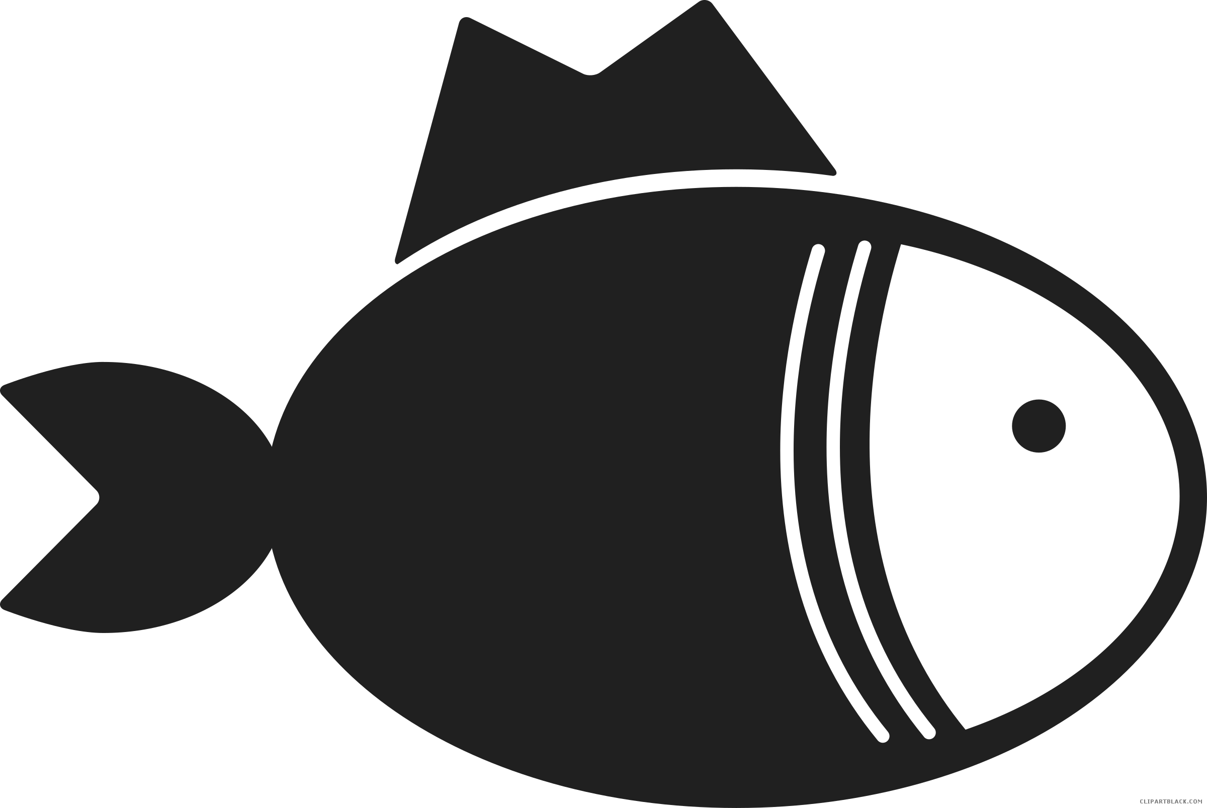 Fish clipart silhouette png free Fish Silhouette Clipart - ClipartBlack.com png free