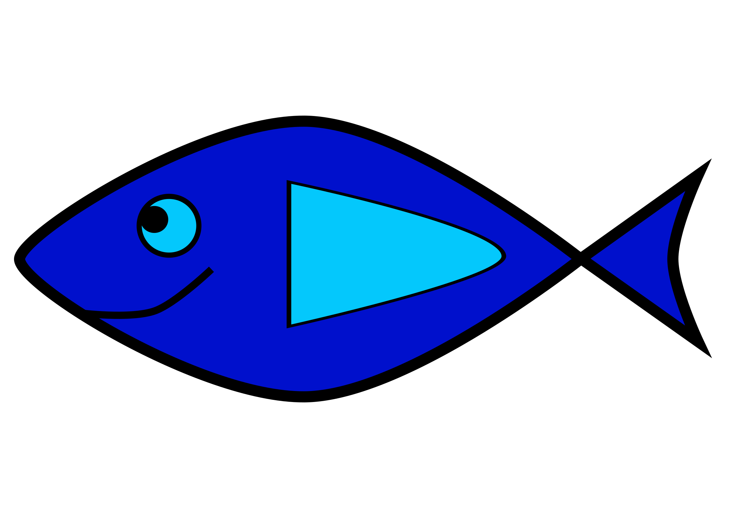 Fish clipart simple royalty free download Simple fish 2 Icons PNG - Free PNG and Icons Downloads royalty free download