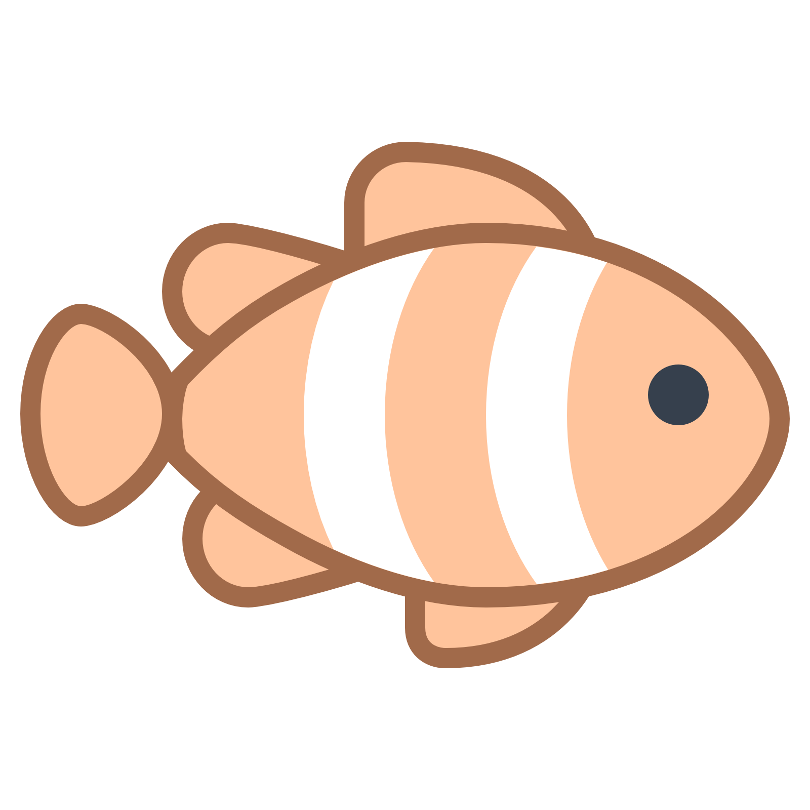 Clown Fish Clipart | Free download best Clown Fish Clipart on ... banner black and white library
