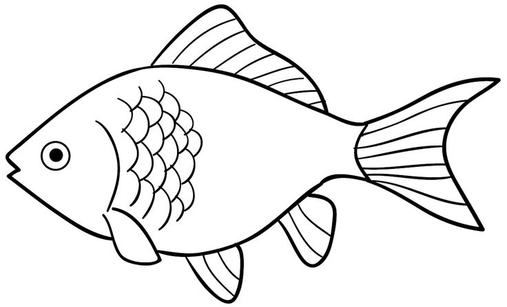 Goldfish clipart black and white png black and white stock 999+ Fish Clipart Black and White [Free Download]- Cloud Clipart png black and white stock