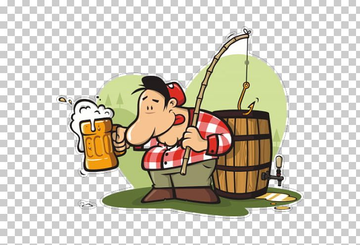 Fish drinking beer clipart graphic transparent stock Beer Alcoholic Drink Cartoon PNG, Clipart, Alcoholic Drink, Angling ... graphic transparent stock