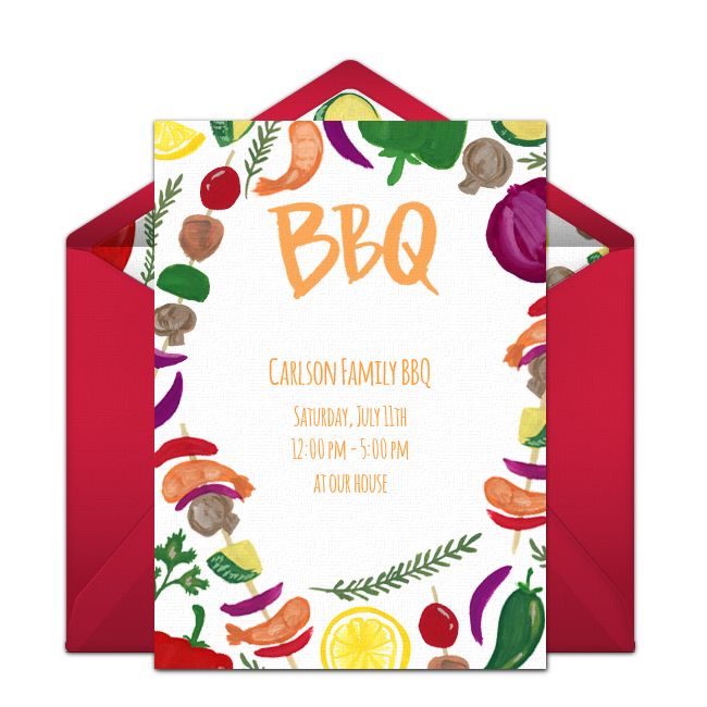 Fish fry cookout clipart clip art royalty free Free Summer Cookout Invitations | Pinterest | Summer parties, Party ... clip art royalty free