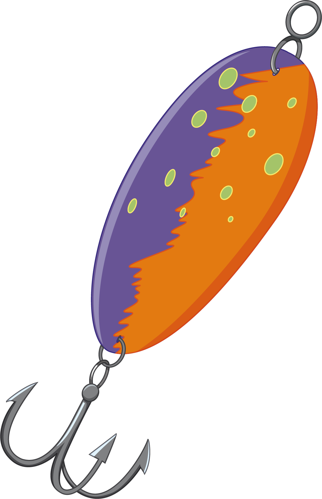 Fish hook with worm clipart png black and white stock Fishing Lure Clipart at GetDrawings.com | Free for personal use ... png black and white stock
