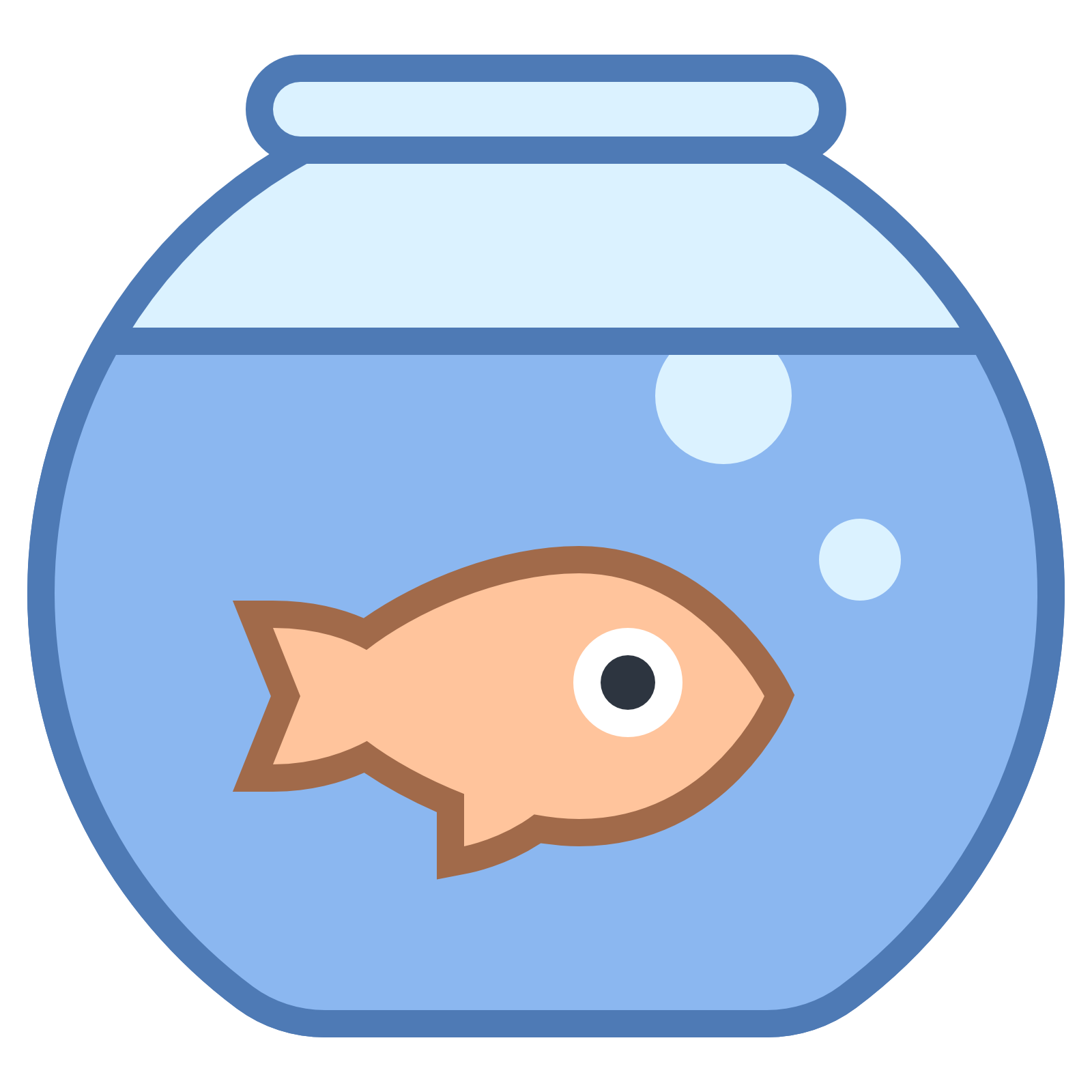 collection of png. Fish in a tank clipart