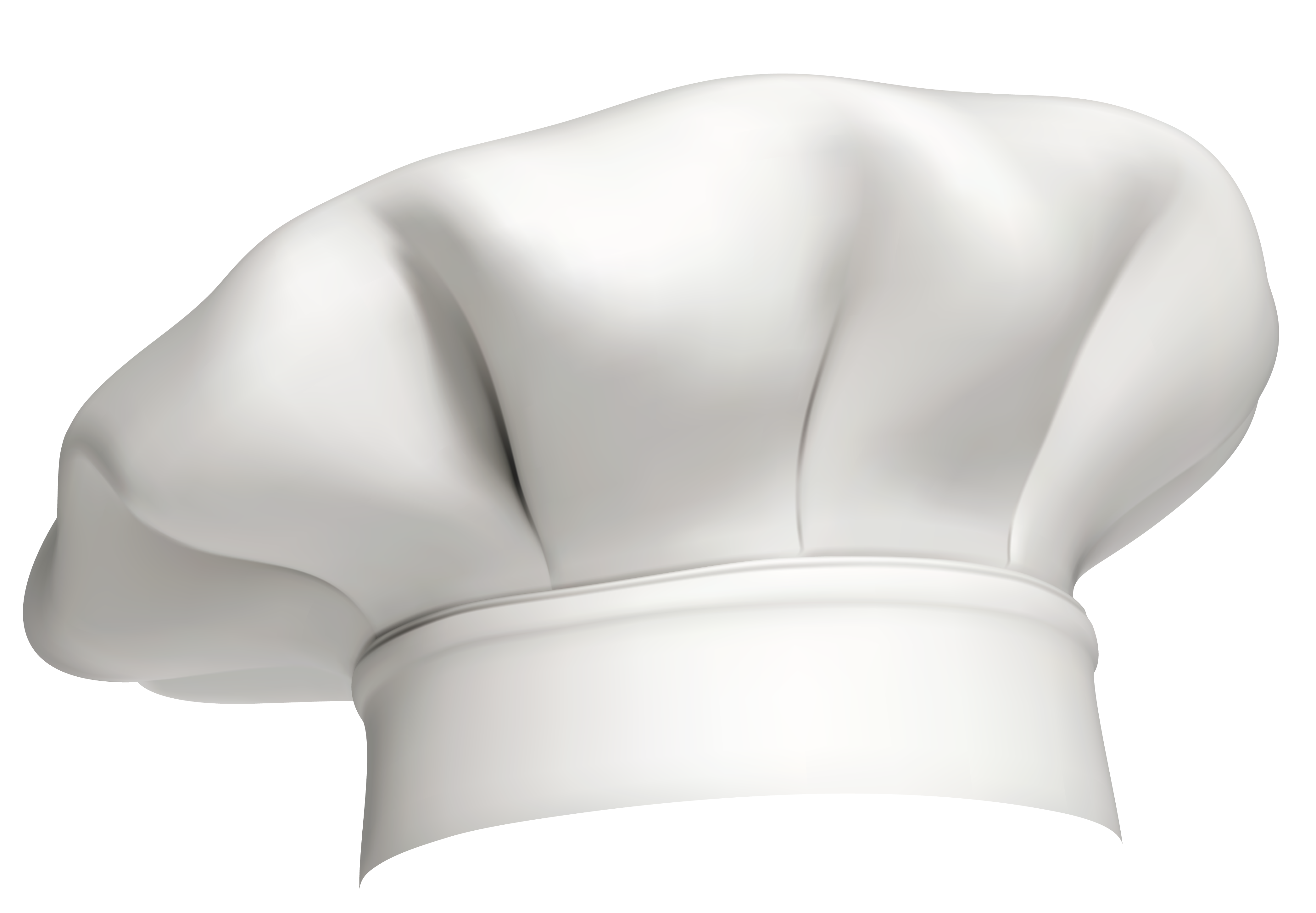 Vector clipart fish chef hat graphic black and white stock White_Chef_Hat_PNG_Clipart.png (4184×2905) | chef | Pinterest | Food graphic black and white stock