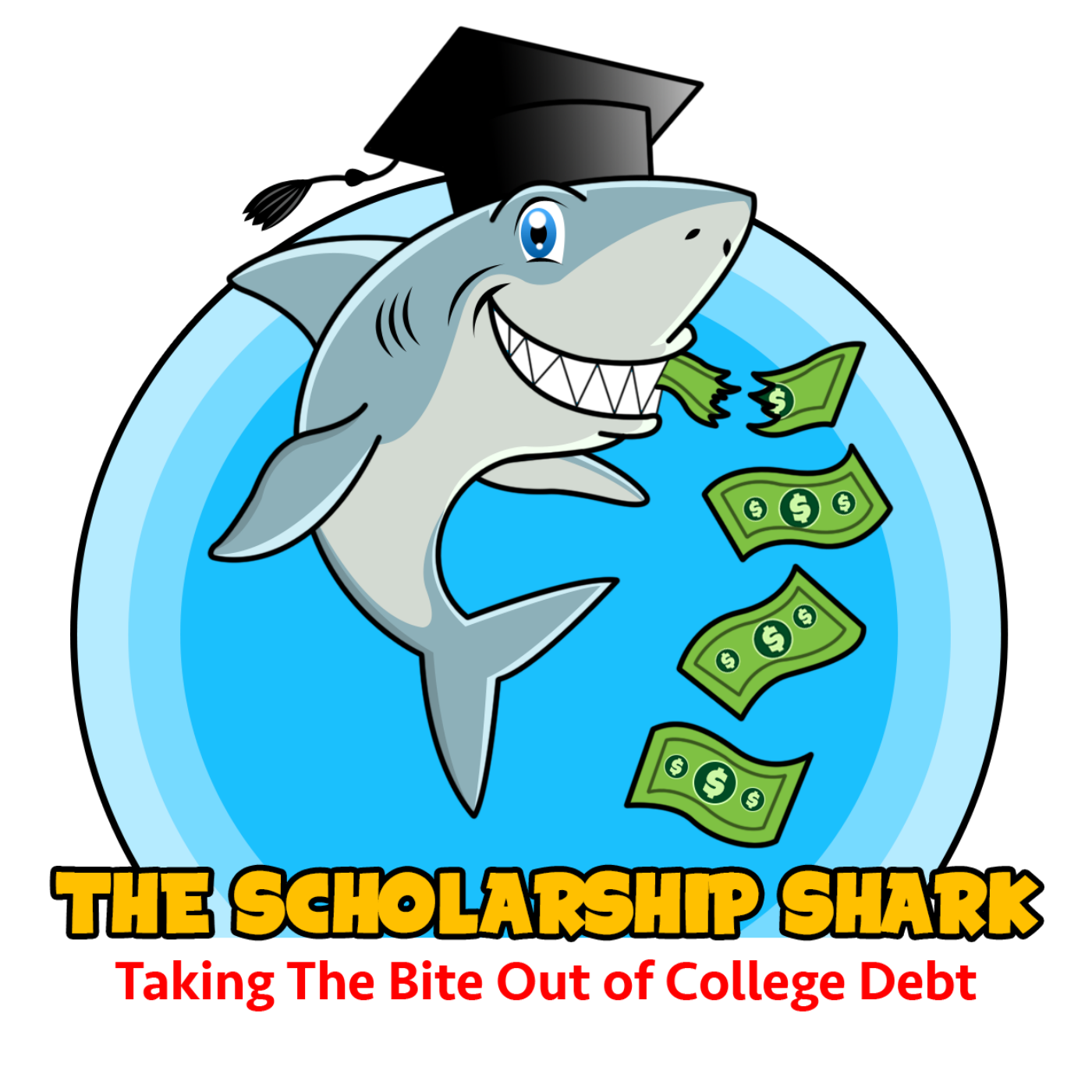 Fish in distress clipart banner free stock 044: Coping Strategies for Anxiety in Teens - The Scholarship Shark banner free stock