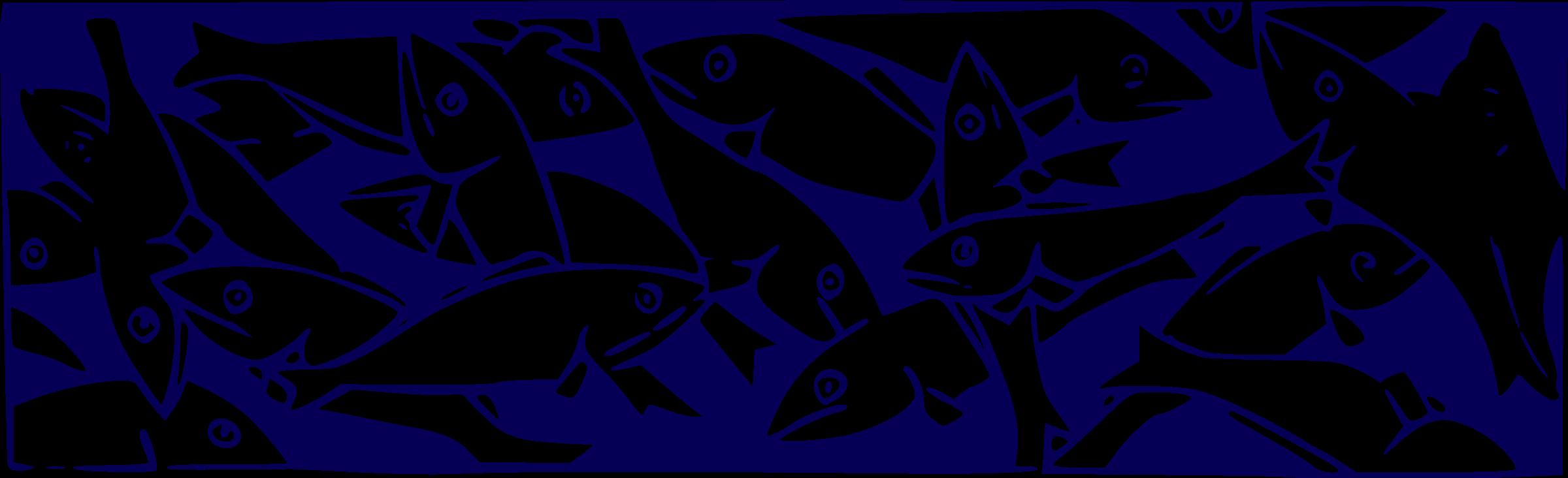 Fish in net clipart. Sardin fishing big image