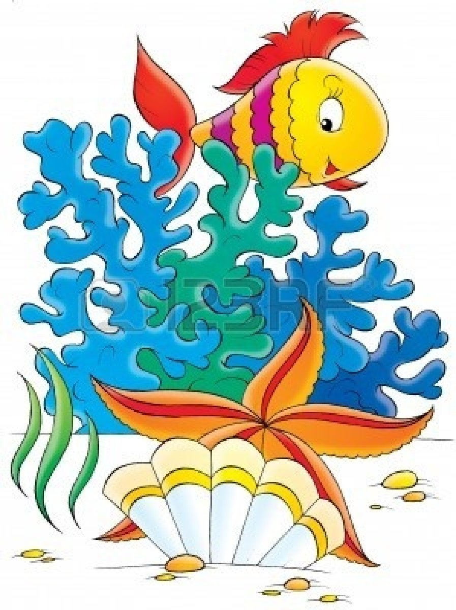 Fish in ocean clipart picture stock Free Ocean Clipart | Free download best Free Ocean Clipart on ... picture stock